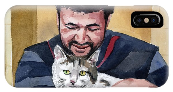Alaa And Samson IPhone Case
