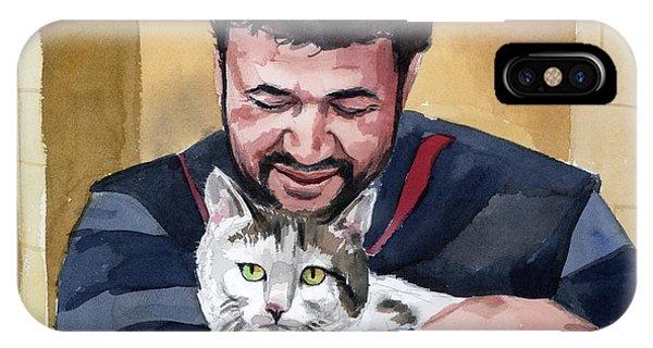 Alaa And Samson IPhone Case