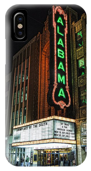 Culture Club iPhone Case - Alabama Theater by Stephen Stookey