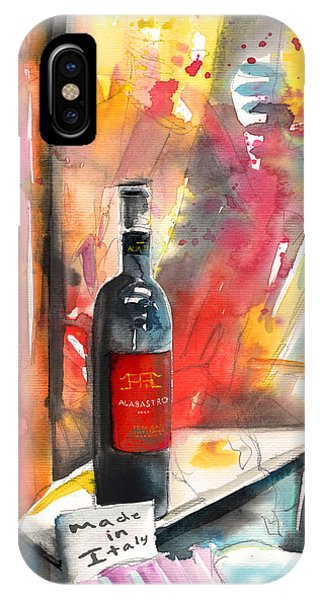 Alabastro Wine From Italy IPhone Case