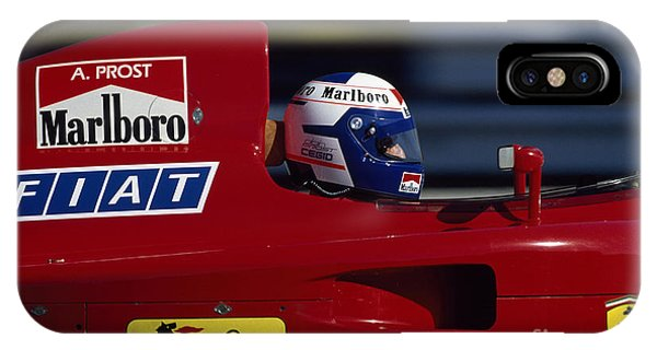 Alain Prost. 1990 French Grand Prix IPhone Case