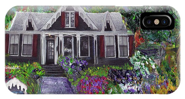 Alameda 1854 Gothic Revival - The Webster House IPhone Case