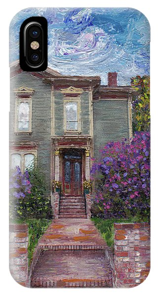 Alameda 1888 - Italianate IPhone Case