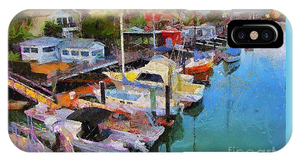 Alameda Life On The Estuary 2 IPhone Case
