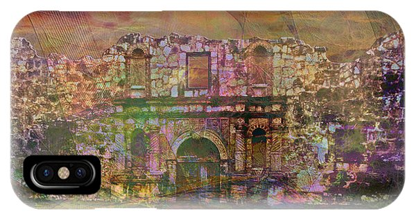 The Alamo iPhone Case - Alamo - After The Fall by John Beck