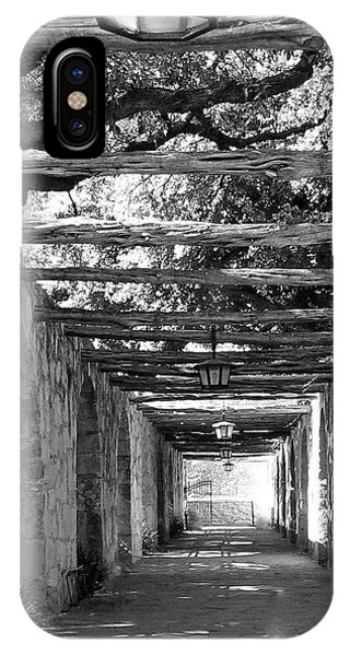 Alamo Corridor IPhone Case
