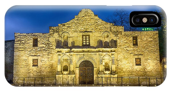 The Alamo iPhone Case - Alamo Dawn by Stephen Stookey