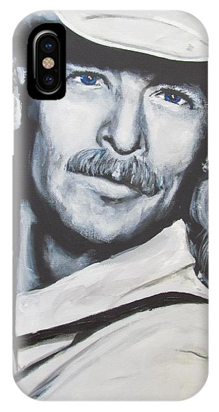 Alan Jackson - In The Real World IPhone Case