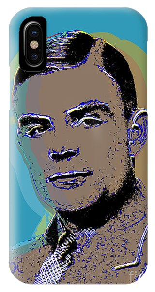 Alan Turing Pop Art IPhone Case