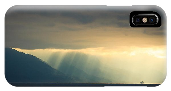 Alaska Inside Passage Under The Clouds IPhone Case