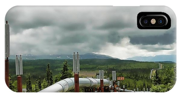 Alaska Pipeline IPhone Case