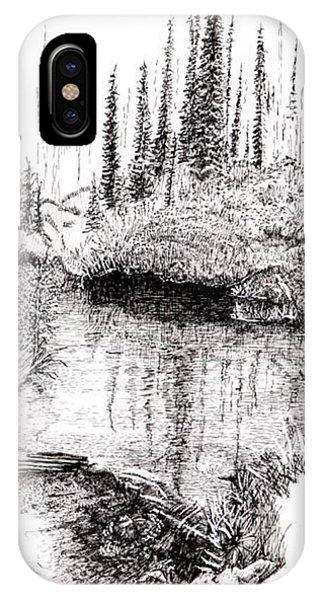 Alaska Pond IPhone Case