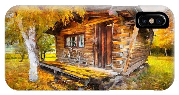 Alaskan Autumn IPhone Case