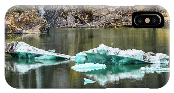 Alaskan Icebergs IPhone Case
