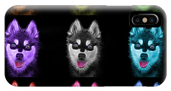 Alaskan Klee Kai - 6029 -bb - M IPhone Case