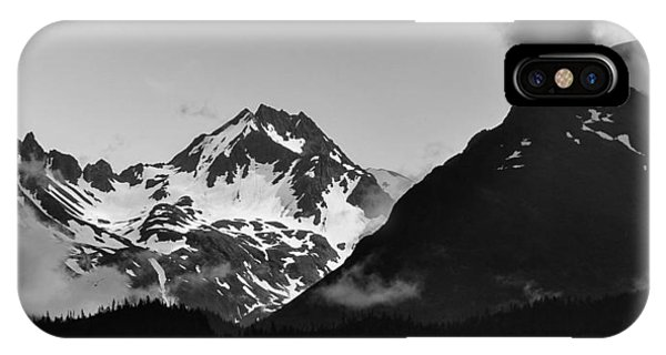 Alaskan Mountain Range IPhone Case