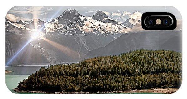 Alaskan Mountain Reflection IPhone Case