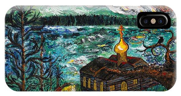 Alaskan Orthodox Church IPhone Case