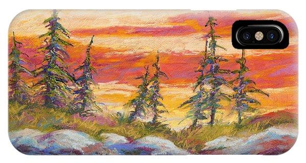 Alaskan Skies IPhone Case