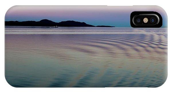 Alaskan Sunset At Sea IPhone Case