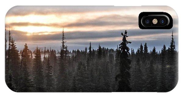 Alaskan Sunset Sunrise IPhone Case