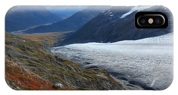 Alaska's Exit Glacier IPhone Case