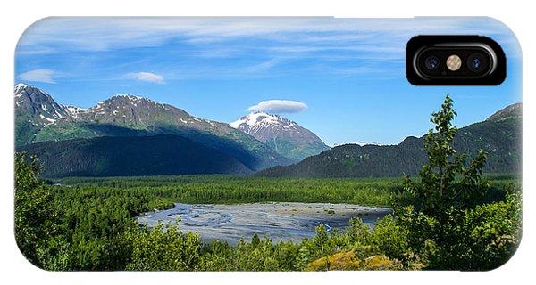 Alaska's Exit Glacier Valley IPhone Case