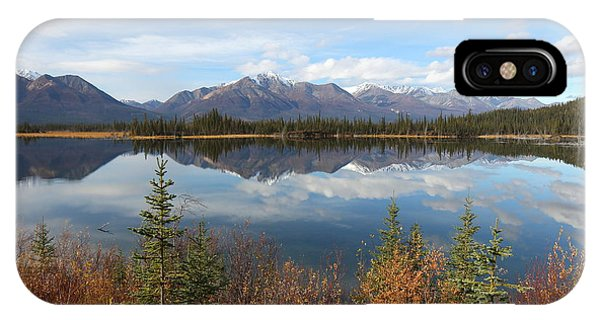 Reflections At Alaska's Mentasta Lake IPhone Case