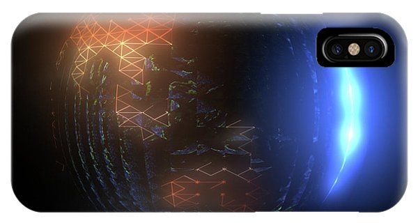 Albedo - Transition From Night To Day IPhone Case