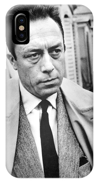 Nobel iPhone Case - Albert Camus (1913-1960) by Granger