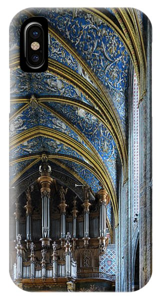Albi Cathedral Nave IPhone Case