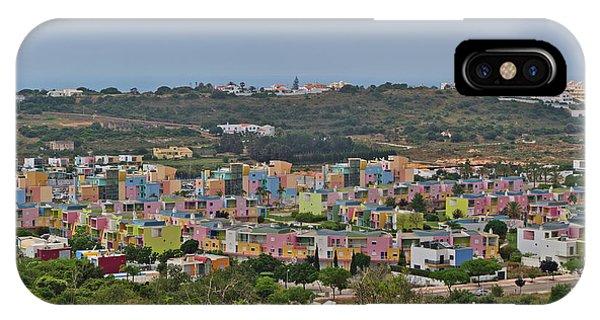 Albufeira Marina View IPhone Case