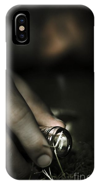 Chronic Pain iPhone Case - Alcohol Addiction by Jorgo Photography - Wall Art Gallery