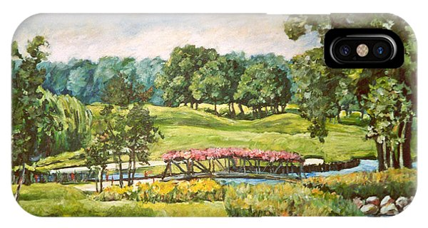 Rockford iPhone Case - Aldeen Golf Course by Ingrid Dohm