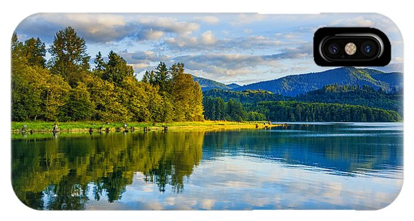 Alder Lake Reflection IPhone Case