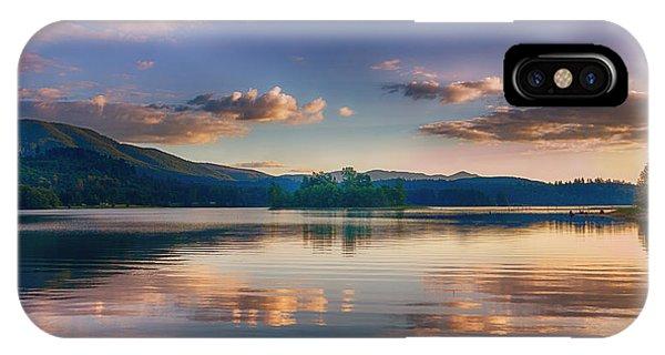 Alder Lake Sunset IPhone Case