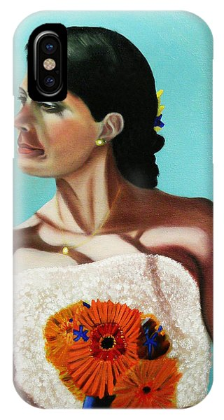 Alena On Her Wedding Day IPhone Case