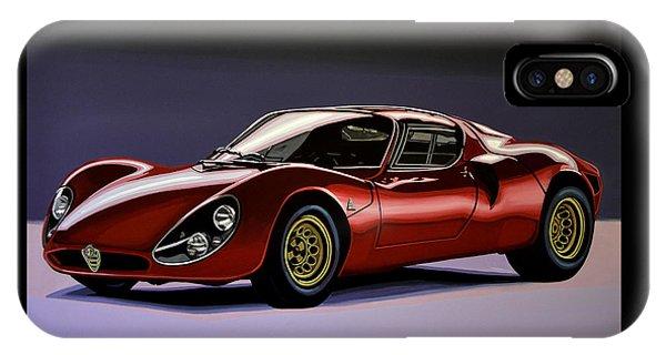 Alfa Romeo 33 Stradale 1967 Painting IPhone Case