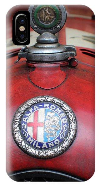 Alfa Romeo 8c 2600 Muletto IPhone Case