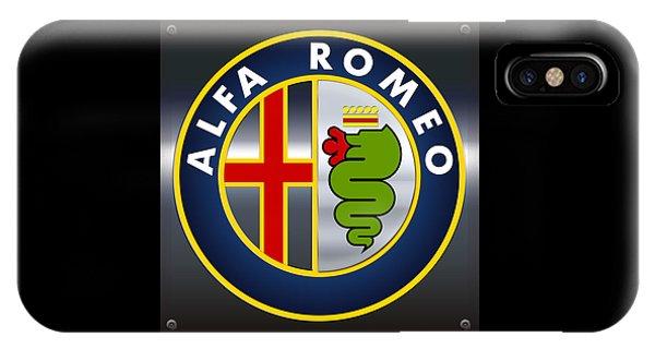 Alfa Romeo Logo IPhone Case