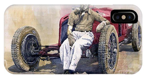 Alfa Romeo Monza Tazio Nuvolari 1932 IPhone Case