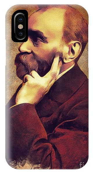 Nobel iPhone Case - Alfred Nobel, Inventor by Mary Bassett