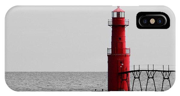 Algoma Lighthouse Bwc IPhone Case