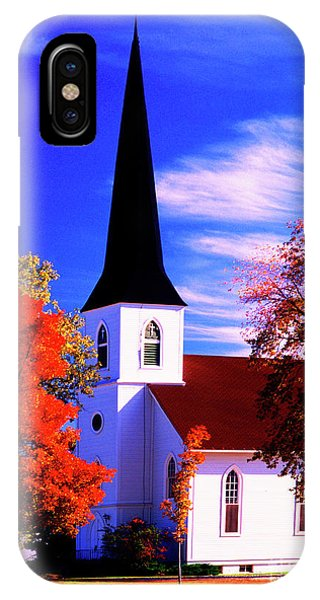 Algonquin Rd Church St Johns United  IPhone Case