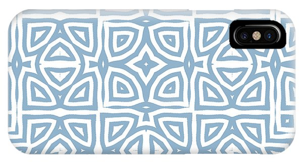 Repeat iPhone Case - Alhambra Blue by Mindy Sommers
