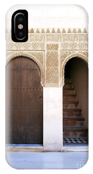 Alhambra Door And Stairs IPhone Case