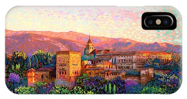 Colourful iPhone Case - Alhambra, Granada, Spain by Jane Small