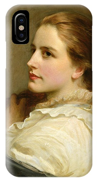 1877 iPhone Case - Alice by Henry Tanworth Wells