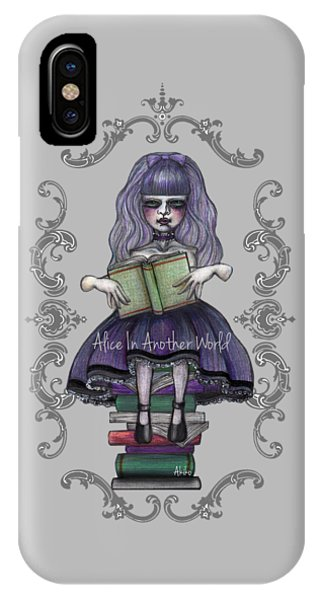 Alice In Another World 2 IPhone Case