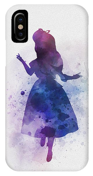Alice In Wonderland iPhone Case - Alice by Rebecca Jenkins
